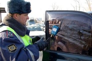 Какой размер штрафа за тонировку стекол автомобиля