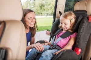 Правила ПДД при перевозке детей в машине.