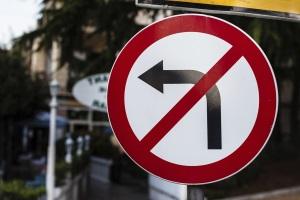 Можно ли повернуть налево при знаке разворот запрещен