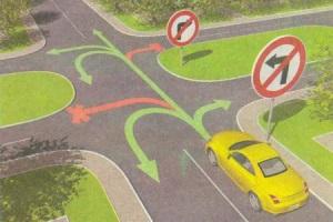 Правила проезда знака