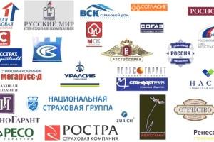 Топ 10 страховых в Москве по выдаче полиса КАСКО.