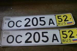Размер штрафа за езду с просроченными транзитными номерами.