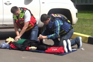 Инструкция по оказанию первой помощи пострадавшему при ДТП.