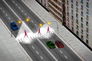 Особенности проезда пешеходного перехода в новой редакции.
