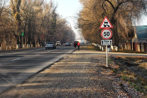 Действия знака ограничения скорости в городе если он установлен перед перекрестком