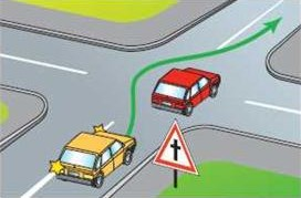Обгон на перекрестках вне населенного пункта