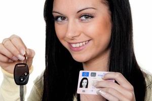 Подкатегории водительских прав.