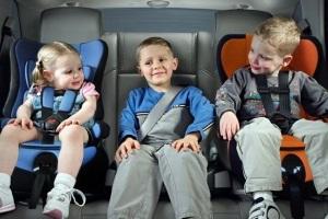 Перевозка детей до 2 лет.