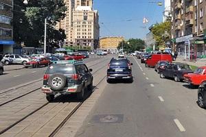 Правила разворота на трамвайных перекрестках.