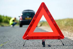 Аварийная остановка и правила выставления знака.