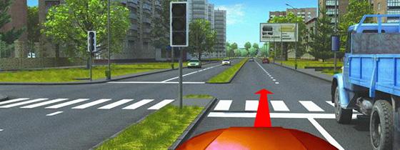 Опережение ТС на пешеходном перекрестке