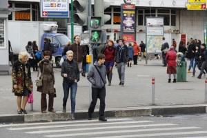Частые нарушения пешеходами.