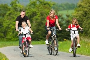 места езды на велосипеде