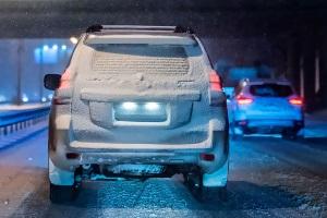 штраф за отсутствие подсветки заднего номера автомобиля